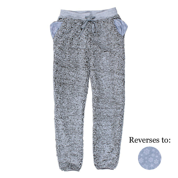Reversible Sherpa Pants - Nordic Fleece - The Sherpa Pullover Outlet