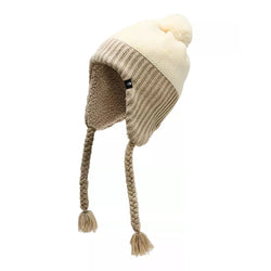 Women's Purrl Stitch Earflap Beanie - The North Face - The Sherpa Pullover Outlet