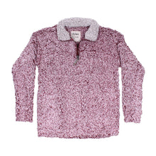 True Grit (Dylan) Frosty Tipped Women's Stadium Pullover in Vintage Wine
