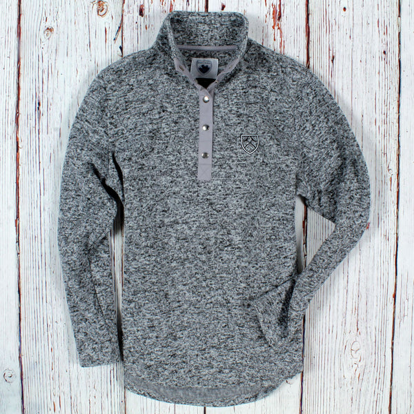 Golden Circle Fleece Pullover - Nordic Fleece - The Sherpa Pullover Outlet