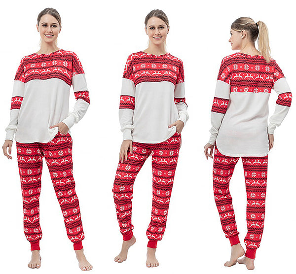 Reindeer Christmas Jammy Top by Nordic Fleece - Nordic Fleece - The Sherpa Pullover Outlet