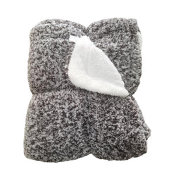 Kristiansand Plush Sherpa Blanket by Nordic Fleece - Nordic Fleece - The Sherpa Pullover Outlet