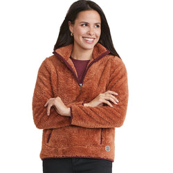 Women's Re-Spun Sherpa Corbet - Marine Layer - The Sherpa Pullover Outlet