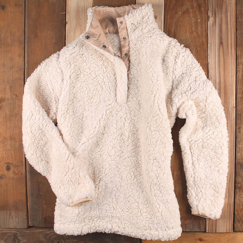 Sherpa Snap Pullover - Everest Clothing - The Sherpa Pullover Outlet