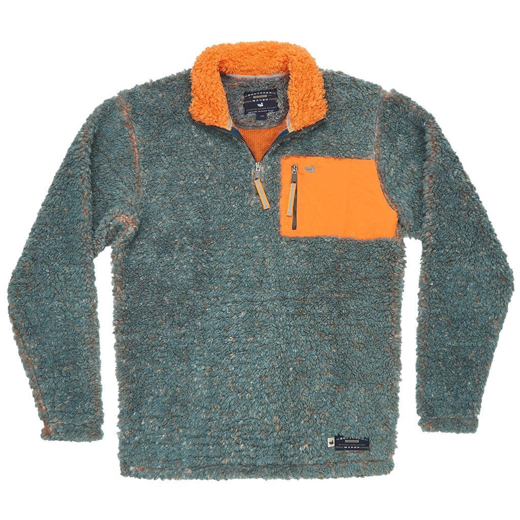 Southern marsh piedmont range sherpa pullover sherpa for Southern marsh dress shirts on sale
