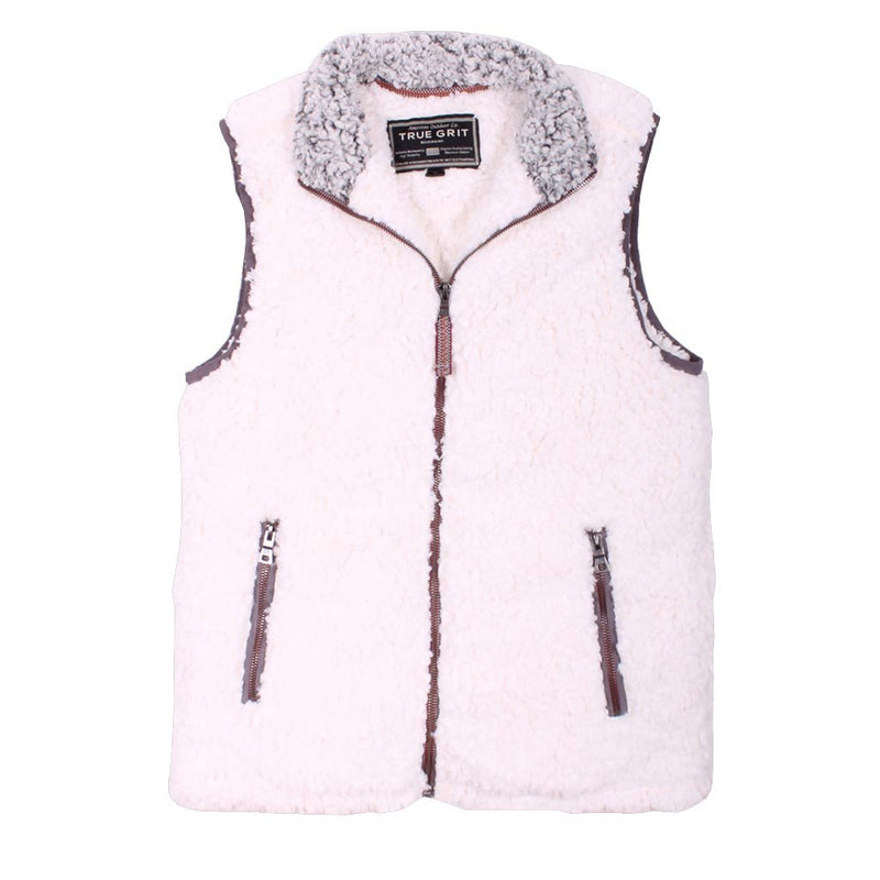 Frosty Tipped Double Up Vest - True Grit - The Sherpa Pullover Outlet