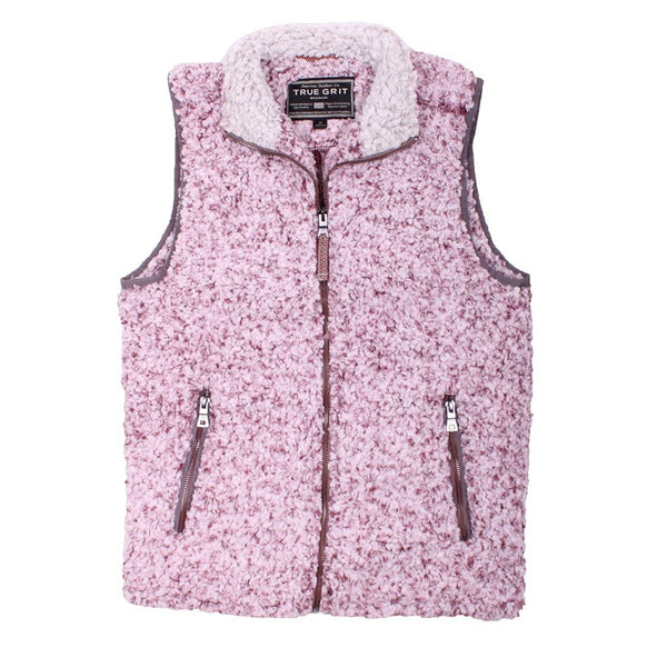 Frosty Tipped Double Up Vest - FINAL SALE - True Grit - The Sherpa Pullover Outlet