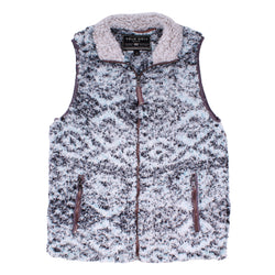Frosty Tipped Tribal Vest - True Grit - The Sherpa Pullover Outlet