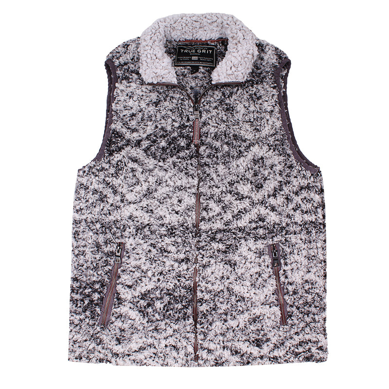 Frosty Tipped Tribal Vest - FINAL SALE - True Grit - The Sherpa Pullover Outlet