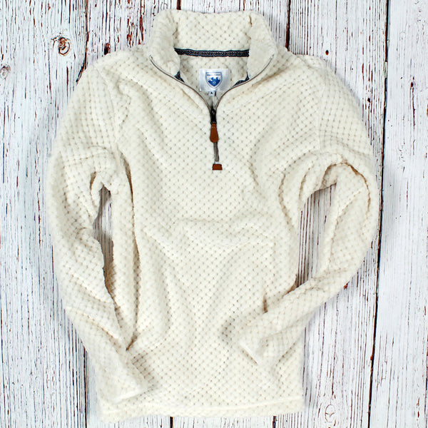 Trysil Plush Pullover - The Sherpa Pullover Company