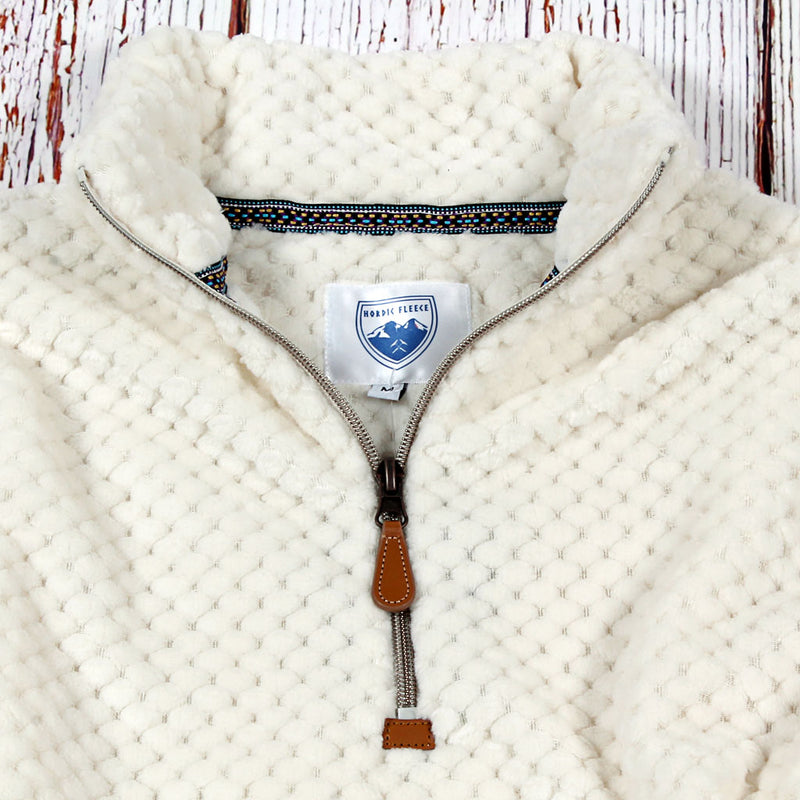 Trysil Plush Pullover - Nordic Fleece - The Sherpa Pullover Outlet