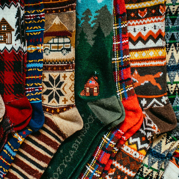 Cozy Cabin Socks by Kiel James Patrick - The Sherpa Pullover Company