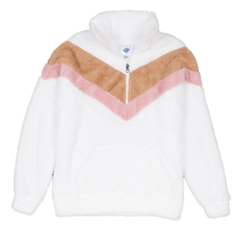 V-Panel Kangaroo Pullover - Nordic Fleece - The Sherpa Pullover Outlet