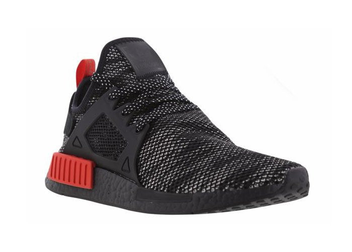 Adidas NMD XR1 Primeknit  Bred  (BLACK BLACK RED) - Size  8.5 – Secure  Purchase 6ae3ea4de