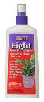 Bonide # 110 12 oz Ready To Use Eight Houseplant Insecticide Spray - Quantity 4