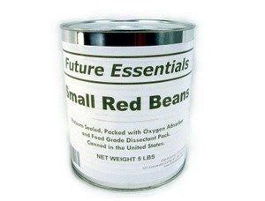 1 Can of Future Essentials Small Red Beans, Dried, #10 Can, 5 lbs Net Weight