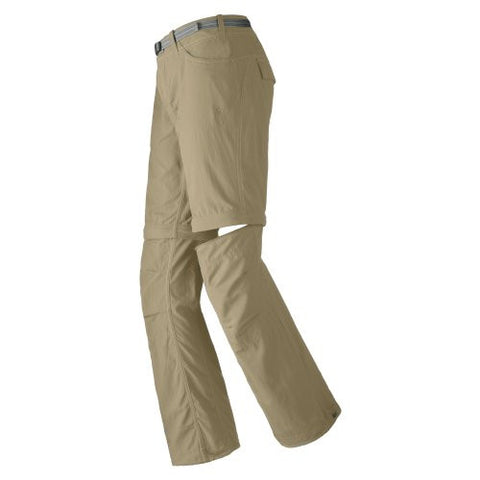 Mountain Hardwear Corsica Convertible Pant - Women's Short Length Pants & shorts 8 Khaki