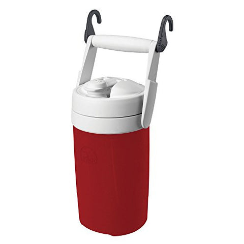 Igloo Products Corporation 000416674 Sport Cooler with Hooks, Red Heat, 1/2 gal