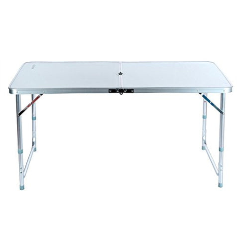 Aluminum Folding Table 4'Portable Outdoor Picnic Camping Table Party Useful