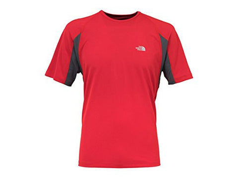 Alberta Vertex TEE MEN T-m Red/grey