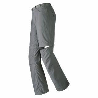 Mountain Hardwear Corsica Convertible Pant - Women's Short Length Pants & shorts 8 Grill