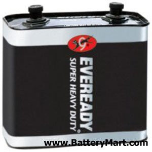 Eveready Super Heavy Duty Size Lantern Battery - 1231