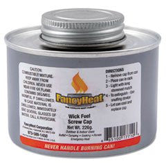 * Chafing Fuel Can, Twist Cap Wick, 4 Hour Burn, 8 oz