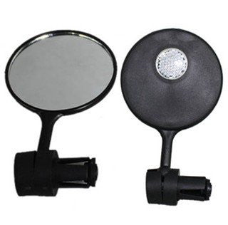 360 Degree Bicycle Rearview Mirror Bicycle Reflector Bicycle Handlebar Mirror a pair