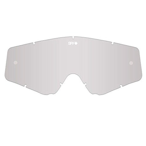 2015 Spy Optics Unisex Omen MX Replacement Lens Clear Silver Mirror One Size