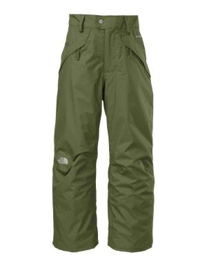 The North Face Boys Seymore Insulated Pant (Large, Scallion Green)