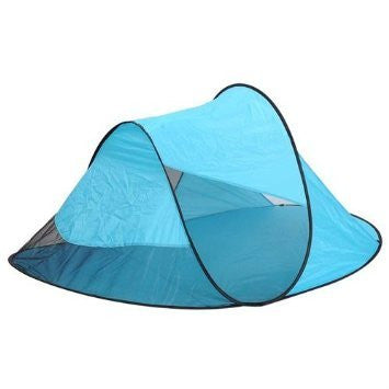 1-2 Person Portable Camping Pop up Beach Tent Blue