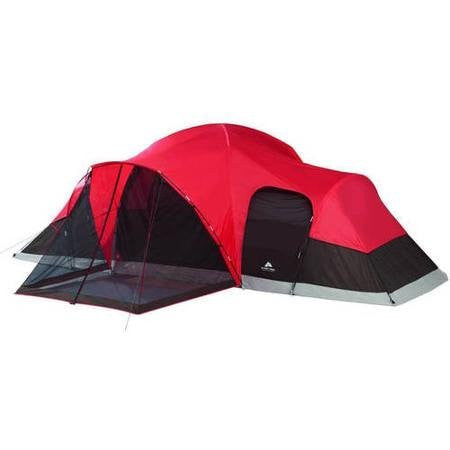 Ozark Trail Family Tent Sleeps 10., 21' x 15' x 78' Enlarged Dome Design