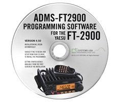 Yaesu ADMS-2900 Programming Software on CD with USB Computer Interface Cable for FT-2900R by RT Systems