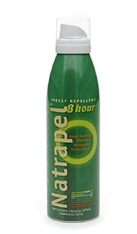 Natrapel 8-Hour Deet Free Long-Lasting Insect Repellent 5 fl oz (177 ml),4 PK