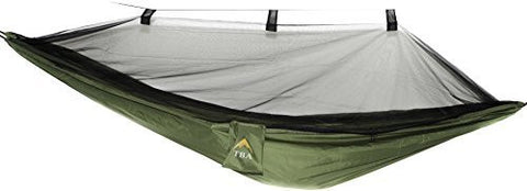 Eclypse II Camping Hammock Professional Grade Ripstop Nylon Strength - Ultra Light and Durable - Tree Friendly Straps and Bug Net For Backpacking, Hiking