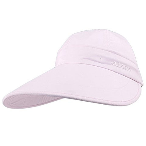 Womens Summer Charming Cycling Sun Hat Wide Brim Hat Light Pink