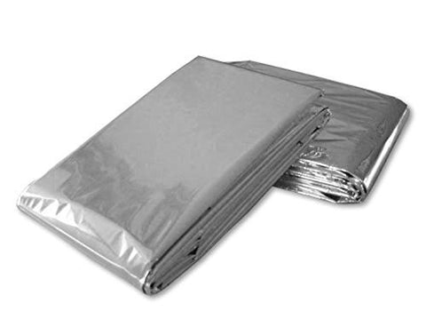 7 PACK • Emergency Solar Blanket Survival Safety Insulating Mylar Thermal Heat