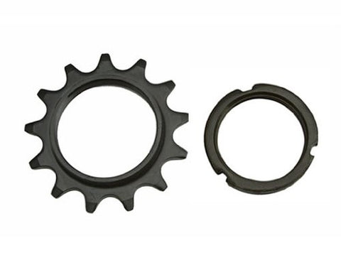 13T Track Fix Cog 1/8 Black. Bike cog, bicycle cog for track bike, fixies, fixed gear bikes