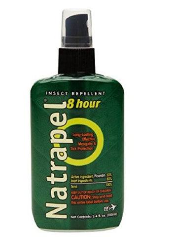 Natrapel 8 Hour Insect Repellent Uncarded Pump 3.4 oz,5PK