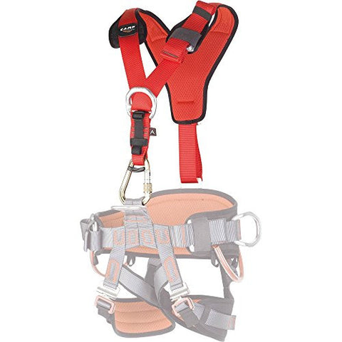 CAMP GT Chest Harness L-XXL with Front and Back D Ring Attachment Points
