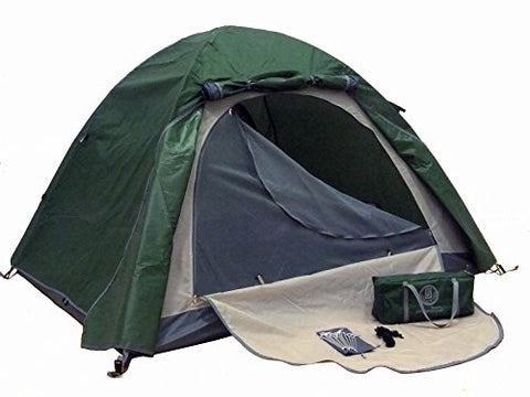 Genji Sports Aluminum Light Weight Camping Tent Green, Light Green, One Size