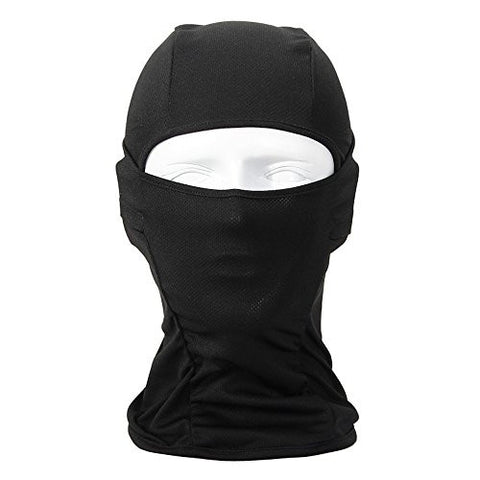 Balaclava Face Mask ,helmat mask,Funway Full Face Cover for Motorcycle, Biking, Ski, Cycling, Running or Hiking - Fit for Summer and Winter (Color may Vary) (black)