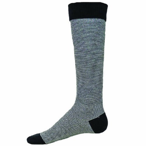Red Lion Skinny Knee High Soccer Volleyball Sock ( Black / White - Large )