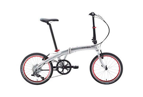 Dahon Mu D10 Brushed Folding Bike Bicycle