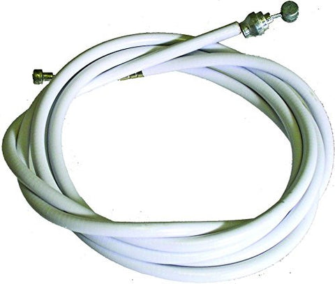 ACTION Slick Lined 2-End Cable Brake, White