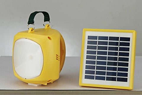 RivenAn Solar Powered Light + Mobile Charger, LED Rechargeable Lantern for Camping Hiking Fishing Outdoor Emergency Equipment