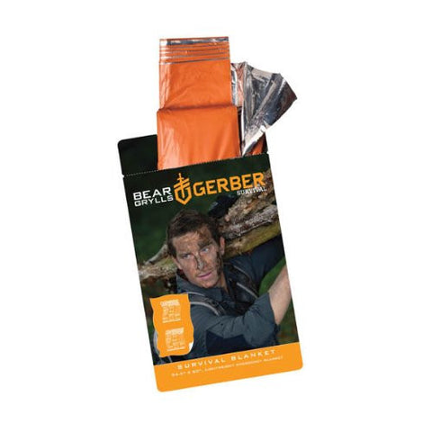 Gerber Bear Grylls Survival Blanket, 96 in X 30 in - GE31-001785