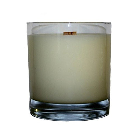 'Man Candle' Wooden Wick 11-ounce HB Rocks Tumbler Candle, This Exceptionally Masculine, Scented 'Man Candle' Is Hand-Poured Into A Reusable 11-Ounce Hb Rocks Tumbler Glass