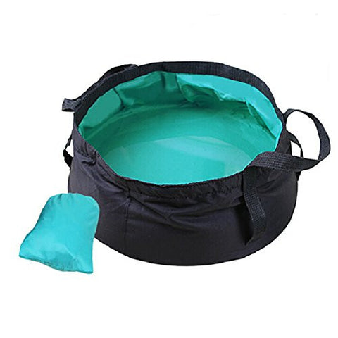 Yayang Outdoor Multifunctional Collapsible Bucket Travel Folding Water Basin Random Color