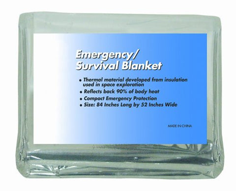 Emergency/Survival Rescue Foil Blanket 84 x52